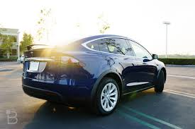 suv tesla tesla model x falcon wing doors explained