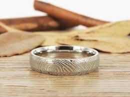 what is a friendship ring titanium fingerprint ring for fingerprint wedding rings