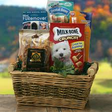 per gift basket faithful friend pet gift basket dog gift baskets