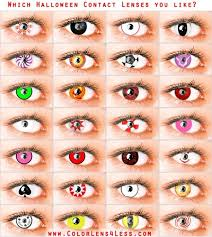 25 color contacts halloween ideas