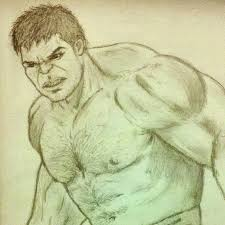 image gallery hulk drawing avengers