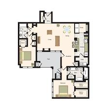 floor plans promenade place luxury apartment living in denver