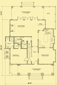 craftsman cottage floor plans craftsman cottage plans a 4 bedroom carolina style house