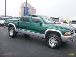 dodge dakota crew cab 4x4 for sale 2003 dodge dakota slt cab 4x4 in timberline green pearl