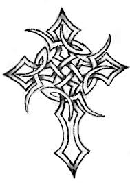 celctic tattoo pictures tribal celtic cross tattoo by