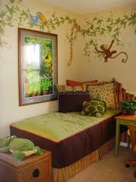 Nursery Jungle Decor Paint Ideas For Jungle Themed Bedroom Www Redglobalmx Org