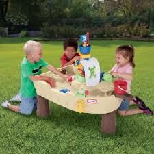 Playskool Picnic Table Amazon Com Little Tikes Anchors Away Pirate Ship Water Play Table