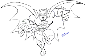draw batman dc comics easy step step drawing