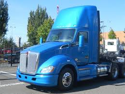 new kenworth semi new kenworth t680 daycab increases fuel economy bigrigvin