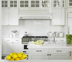 backsplashes for small kitchens small subway tile backsplash small kitchen