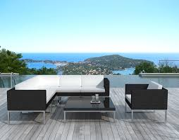 canapé de jardin design salon de jardin design noir tinapafreezone com