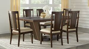 espresso rectangular dining table ambassador place espresso 5 pc rectangle dining room dining room
