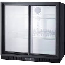 beer refrigerator glass door summit scr700 6 5 cf undercounter beverage cooler w sliding glass