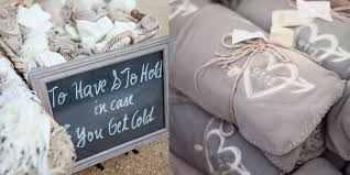 personalized wedding blankets winter wedding favors 6 unique ideas for your big day