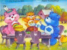 hanging rainbow classic care bears care