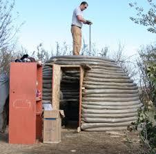 Backyard Sauna Plans by An Earthbag Sauna
