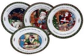 portmeirion a story dinner plates series 3 set of 4