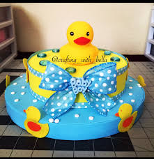 duck theme baby shower center piece diy babies and baby showers