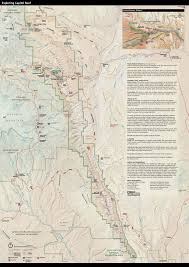 Utah Parks Map by Brochures Capitol Reef National Park U S National Park Service