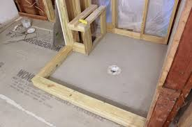 How To Replace Subfloor In Bathroom A Pvc Shower Liner