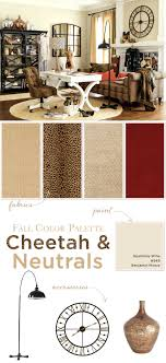 fall color pallette fall color palette cheetah and neutrals how to decorate