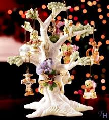 the hundred acre wood ornament tree by lenox