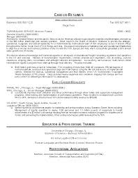 Resume Samples For Professionals by Resume Sample 22 Global Logistics Resume Career Resumes