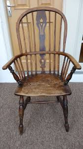 Antique High Back Chairs Antique Windsor High Back Chair In Hereford Herefordshire Gumtree