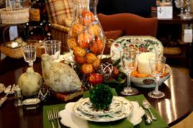 how to set a modern thanksgiving table using 18th century