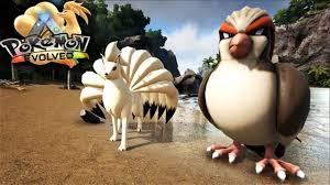pidgeot car ark pokemon evolved mod taming a ninetails u0026 pidgeot ark