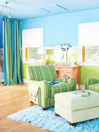 Colour Combination With Blue Blue Color Schemes Striped Fabrics Playrooms And Blue Green