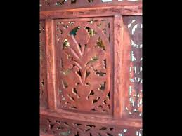 1 room divider original indian hand carved wood screens youtube
