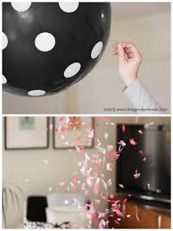 balloons in a box gender reveal 10 ways to throw a gender reveal party