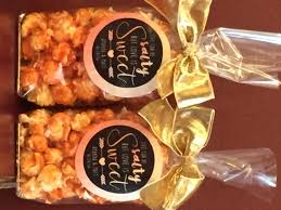 popcorn favors gourmet popcorn wedding favors give aways gifts custom packaging