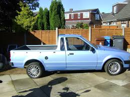 1984 ford escort bantam pickup retro rides