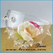 2015 gorgeous hand blown glass hanging air plant terrarium glass