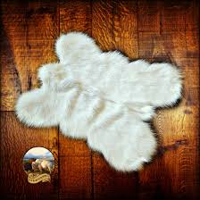 faux fur pelt rug mini mountain bear plush shag luxury fur