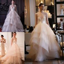 lhuillier wedding dress prices discount 2016 summer wedding bridal sheer neck heavy
