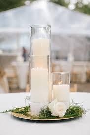 candle centerpiece ideas awesome candle centerpieces for wedding reception tables gallery