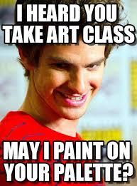 Andrew Meme - smooth andrew i heard you take art class on memegen
