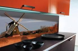 Glass Backsplashes For Kitchens Colorful Glass Backsplash Ideas Adding Digital Prints To Modern
