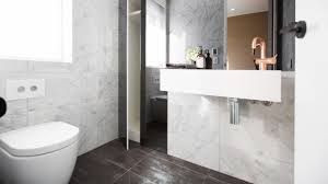 Black Powder Rooms The Dimensions Black Oxide Tiles Used By Shay And Dean On The