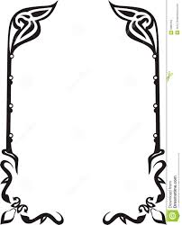 ornament frame stock vector image of ornate revival 5881059