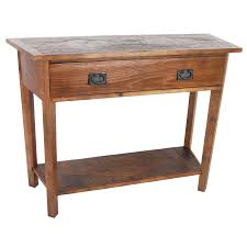 Reclaimed Wood Console Table Reclaimed Wood Console Tables For Less Overstock