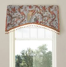 why choose custom window treatments arched kick pleat valance on a board valance toile and priorities