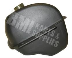 fuel gas tank with cap flat black for 150cc go kart 330310