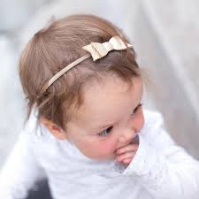 baby bow headbands freshly picked platinum bow headband casp baby me boutique