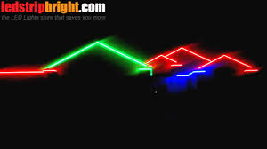 Outdoor Led Light Strips by Outdoor Led Rgb Lighting For You House Youtube