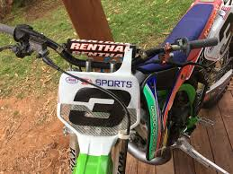 works motocross bikes for sale mike brown simple green replica kx250 for sale has rec reg also