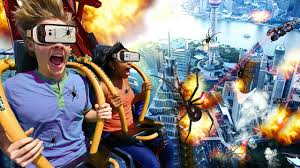 When Is Six Flags Great Adventure Open Six Flags Great Adventure Unveils Virtual Reality Drop Ride Drop